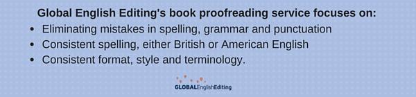 book proofreading services description
